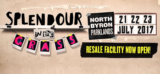 Your Second Chance To Grab A Splendour Ticket Is Nearly Here!