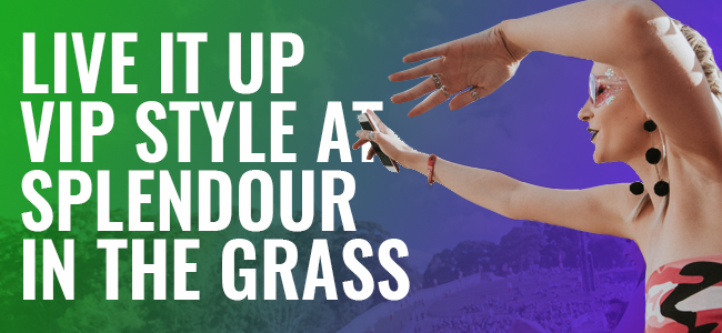 COMPETITION: Win A VIP Experience At Splendour In The Grass