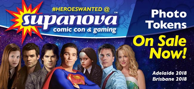 Ian Somerhalder, Christina Ricci & John Barrowman Supa-Star Tokens On Sale Now!