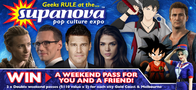 Win A Double Pass To Supanova 2017 - Gold Coast Or Melbourne!