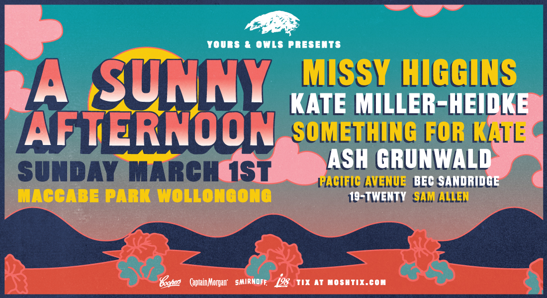 Yours & Owls Launch A Brand New Festival Featuring Missy Higgins, Kate Miller-Heidke And More