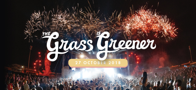 A Sandstorm is coming to The Grass is Greener Festival 2018