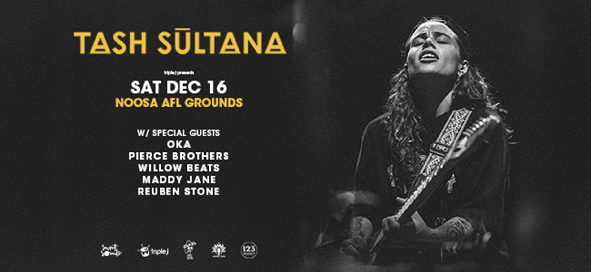 Here's Your Last Chance To See Tash Sultana Until The End Of 2018!