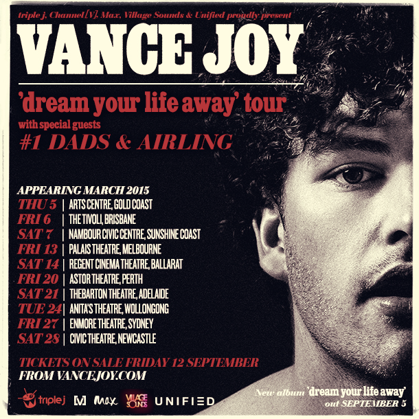 Buy Vance Joy Dream Your Life Away Tour tickets QLD