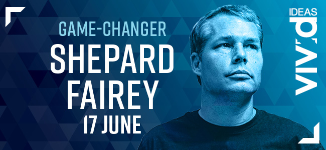 Get Inspired at Vivid Sydney With Game-Changer Shepard Fairey!
