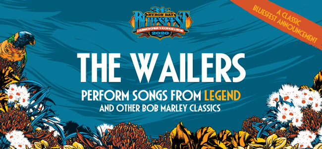 The Wailers Added To Bluesfest Byron Bay Lineup To Celebrate Bob Marley's 75th Birthday