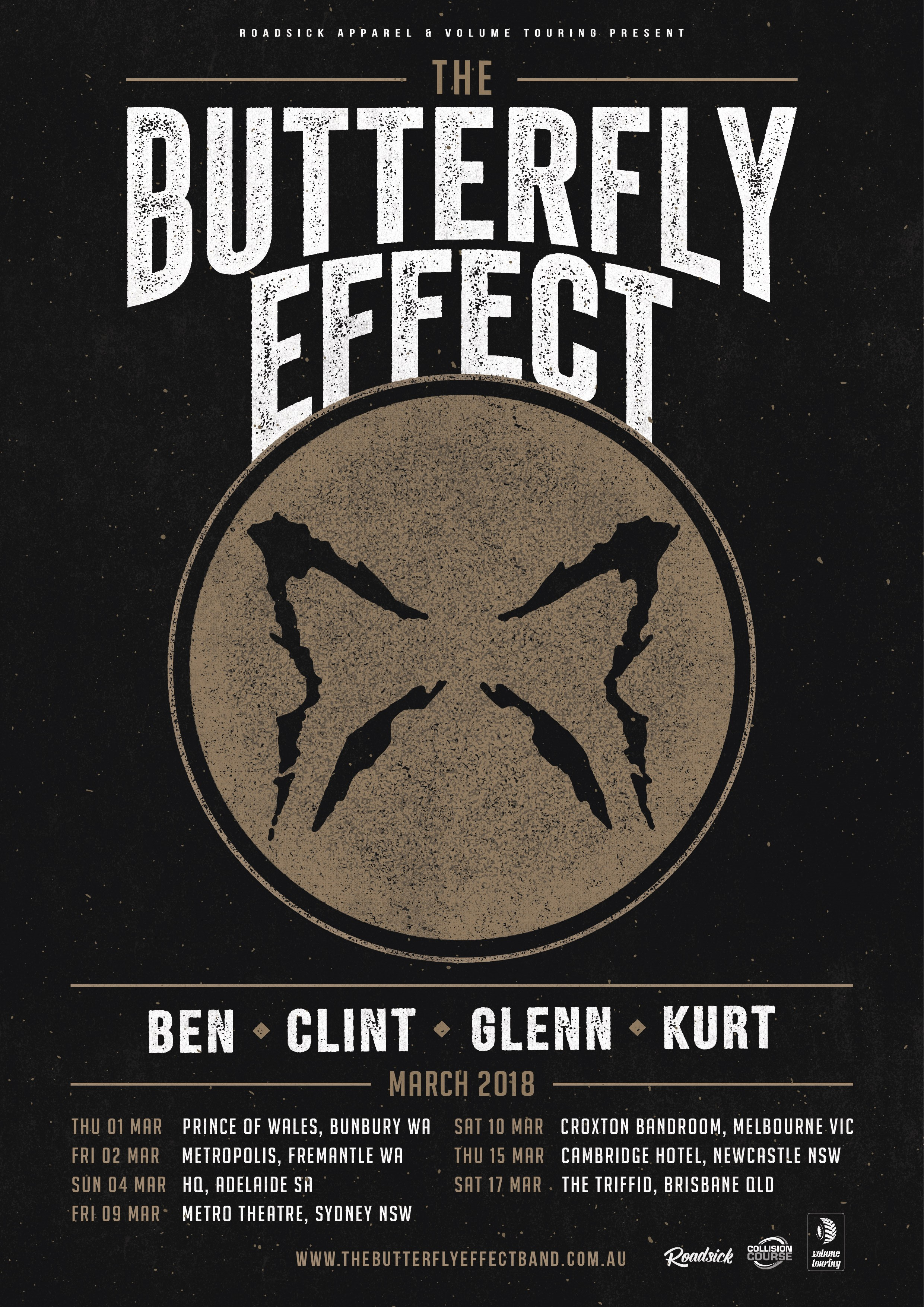 Buy The Butterfly Effect tickets, SA 2018 | Moshtix