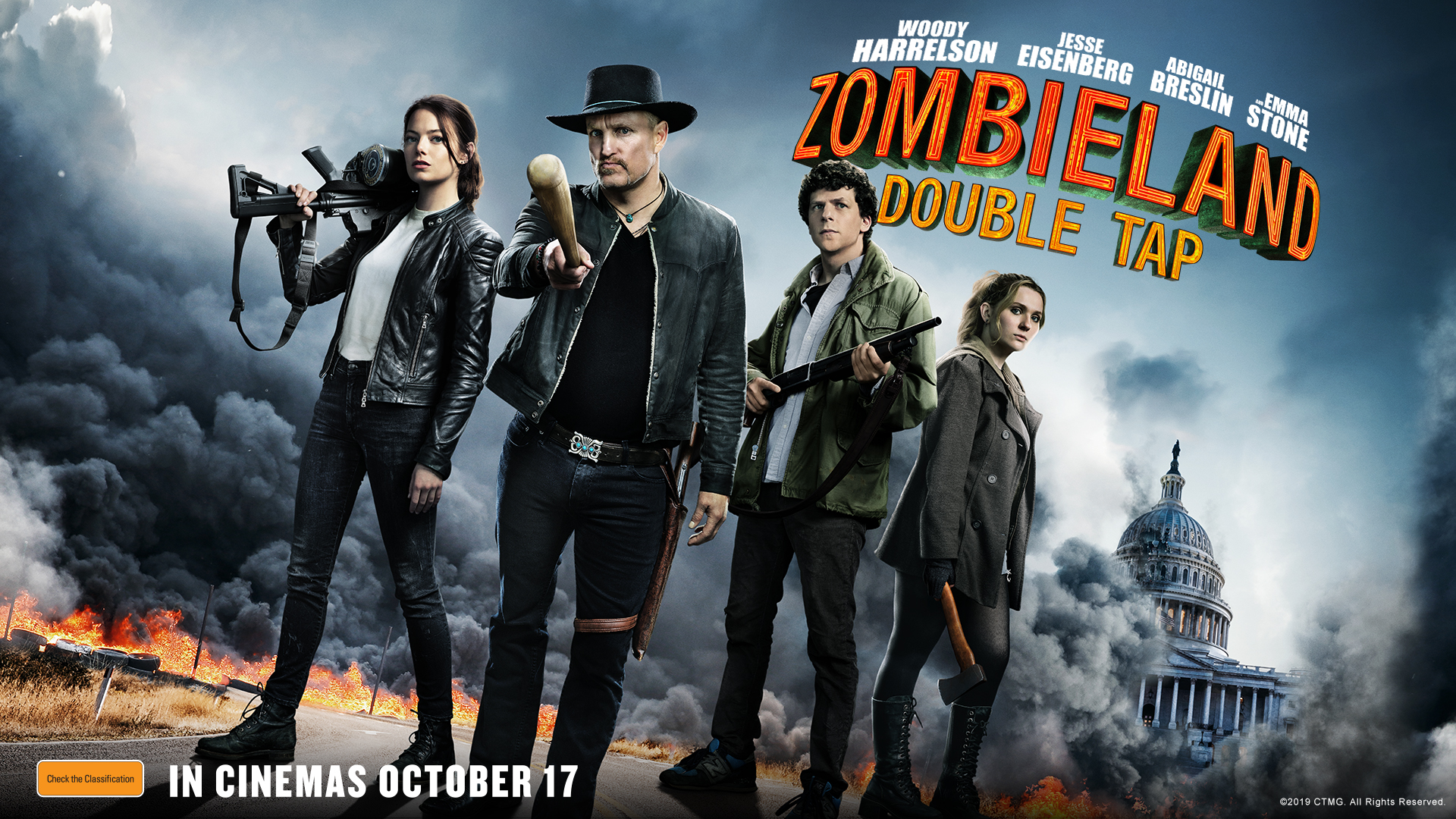 Be Among The First To See Zombieland: Double Tap At Exclusive Preview Screenings!