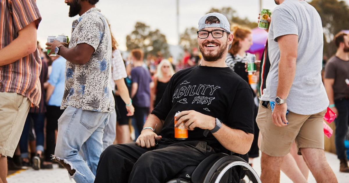 Dylan Alcott's Ability Fest Returns To Coburg Velodrome Ft. Crooked Colours, SAFIA + More