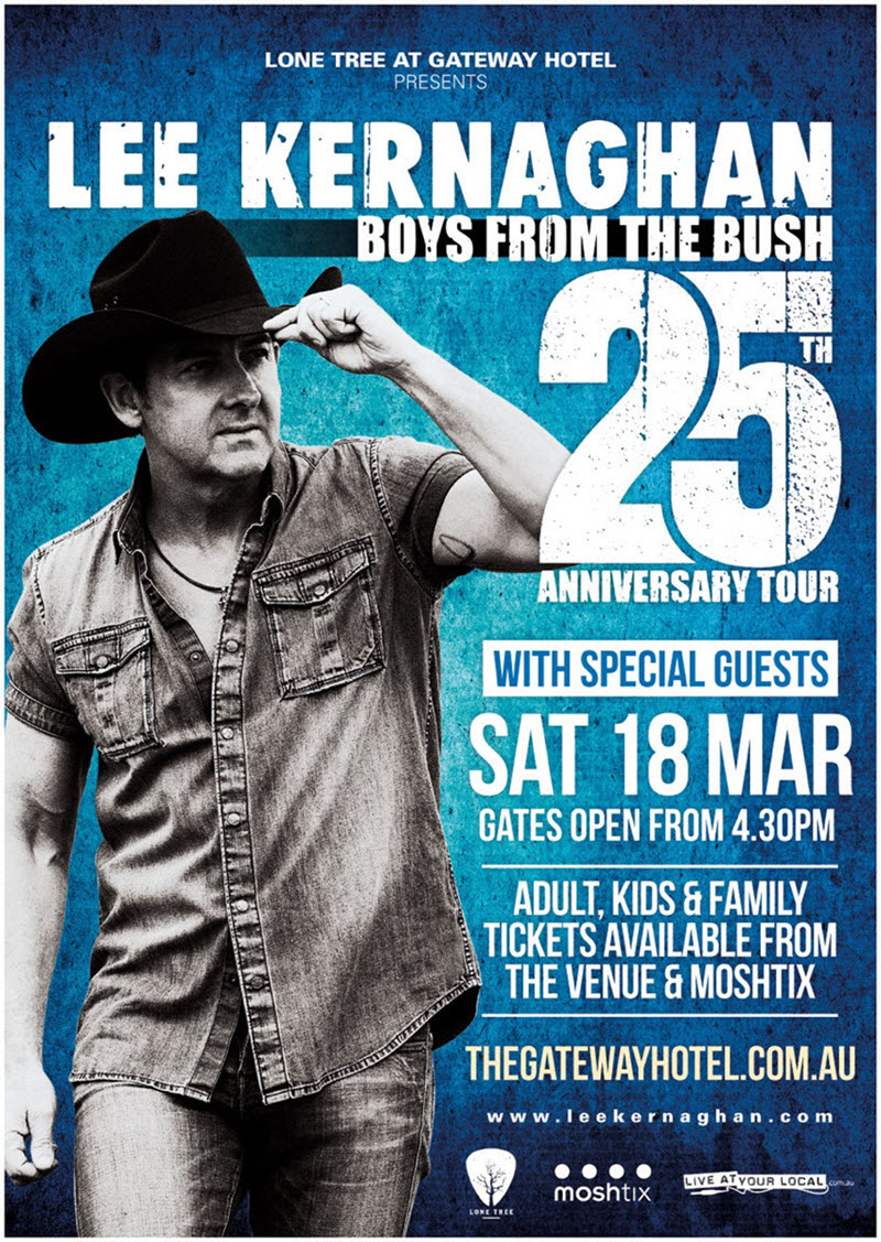 Lee Kernaghan Tickets