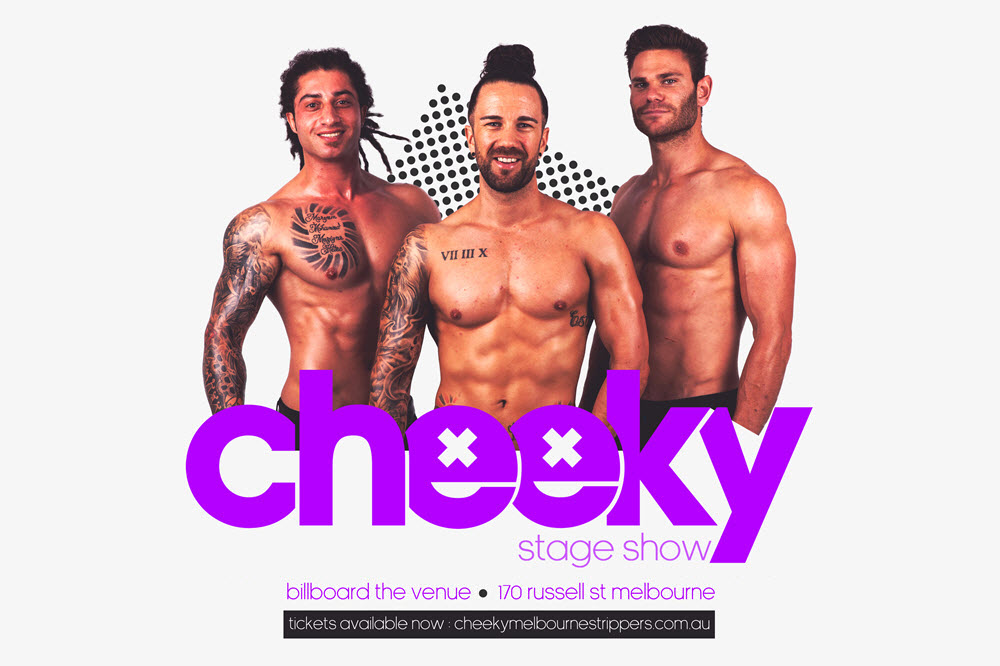 cheeky melbourne strippers tickets