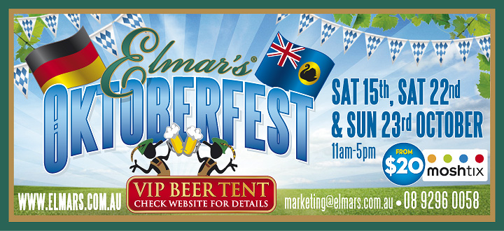 Elmars In The Valley Oktoberfest Tickets