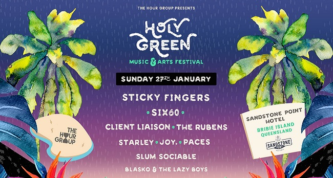 Holy Green Announce Lineup for 2019