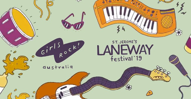 Girls Rock! Announce Pop-Up Stage At Laneway