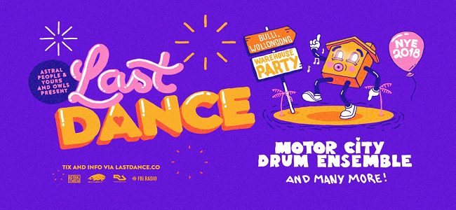 Motor City Drum Ensemble to Headline NYE party, Last Dance