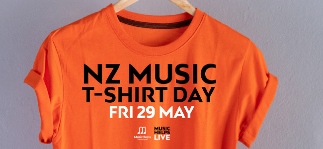 NZ Music T-Shirt Day Is Coming! Here's How You Can Support