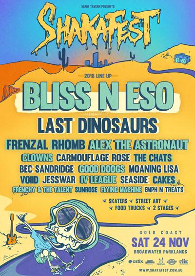Buy Shakafest 2018 tickets, QLD 2018 | Moshtix