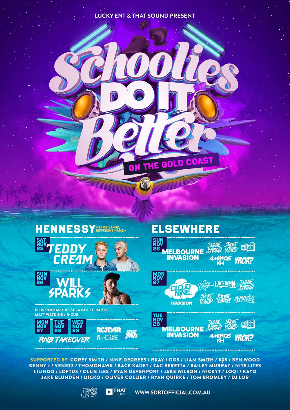 Schoolies Do It Better 2017 Tickets