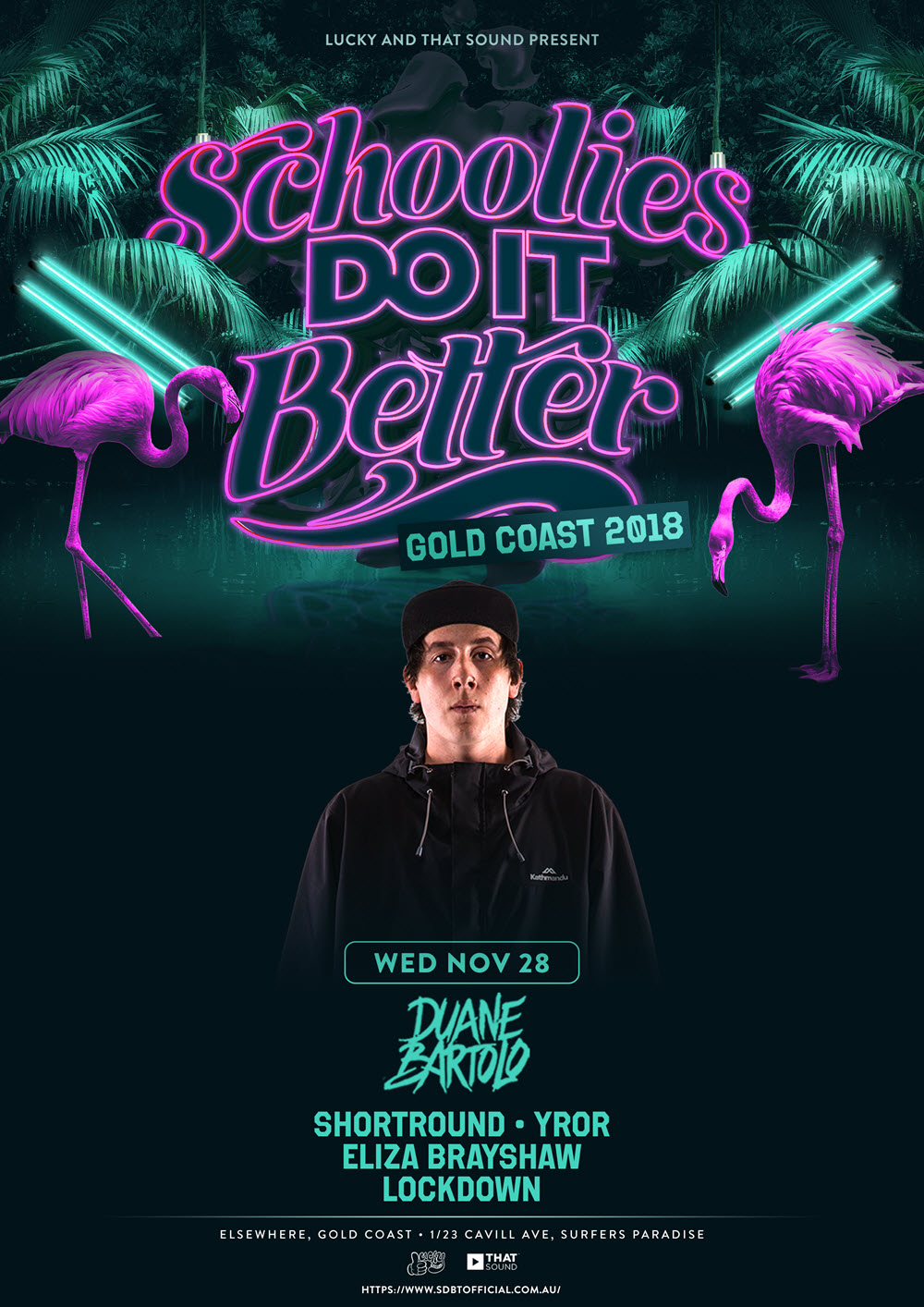 Schoolies Do It Better 2018 Tickets