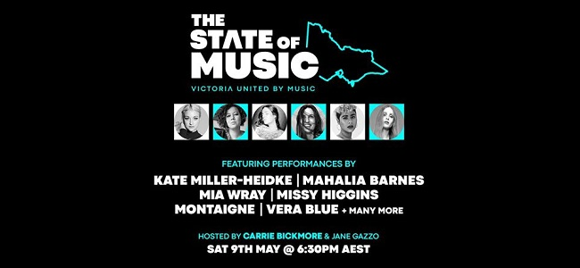 Mushroom Group And Victoria Together Announce The State Of Music Mother's Day Edition
