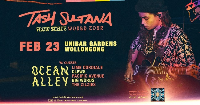 Tash Sultana Announces Additional Show For 'Flow State' Australian Tour