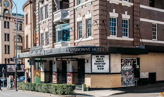 The Lansdowne reopens for food and live music
