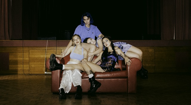Teen Jesus and the Jean Teasers play Yours and Owls all ages festival