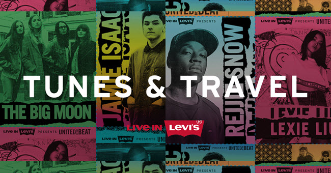 WIN: A YEAR OF GIGS WITH LEVIS!