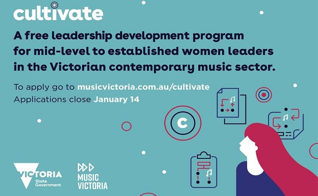 Music Victoria And The Victorian Government Announce A New Women-Only Leadership Program