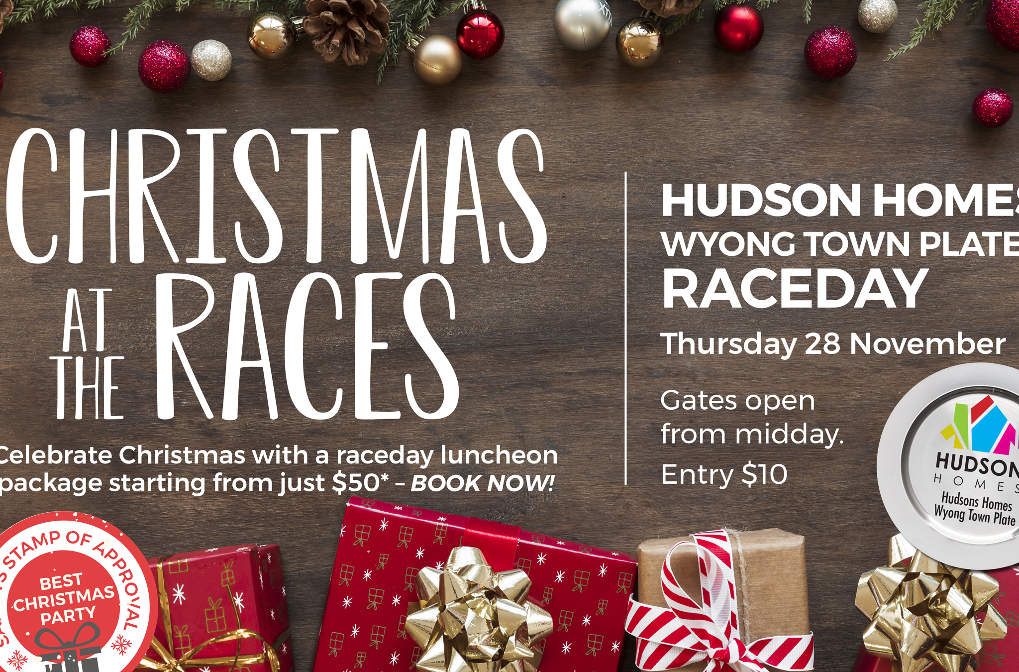 Hudson Homes Wyong Town Plate