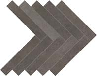 Atlas Dwell Herringbone Smoke Mosaic