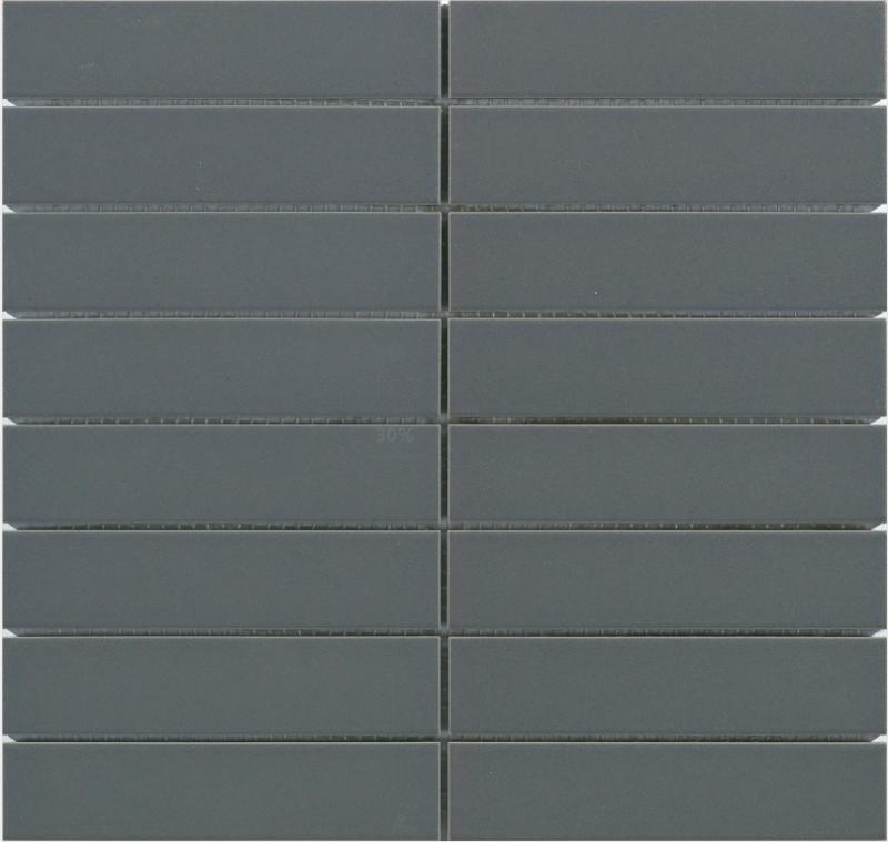 Entiva Glazed Mosaic Dark Grey Matt