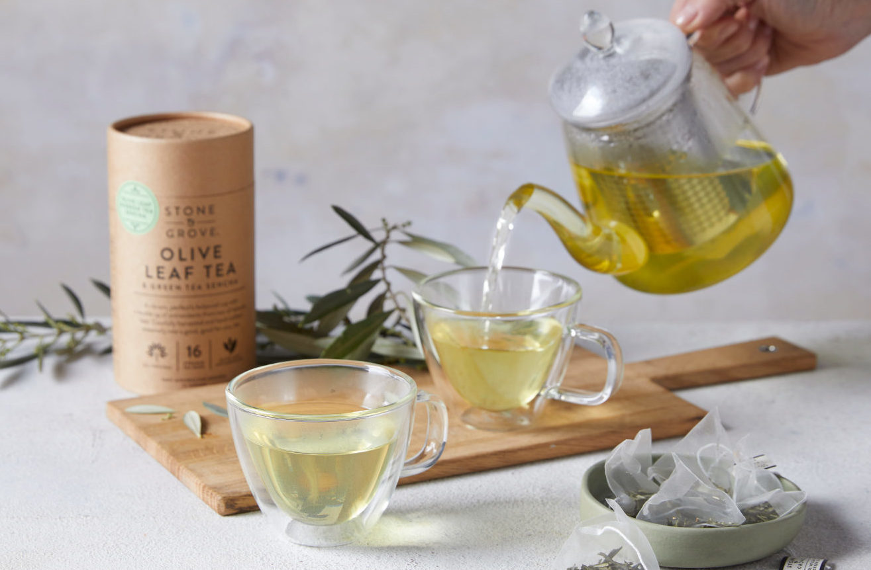 Olive Leaf & Green Tea