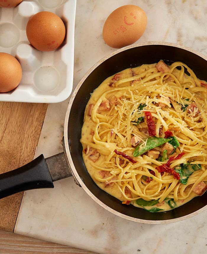 Carbonara with a Twist