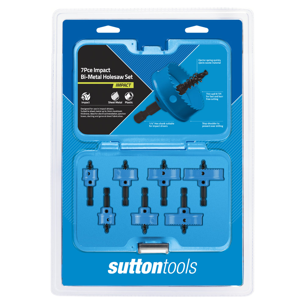 Bi-Metal Holesaw - Impact Sets | Sutton Tools