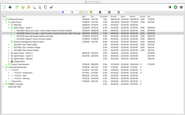 JXCirrus Project for Mac