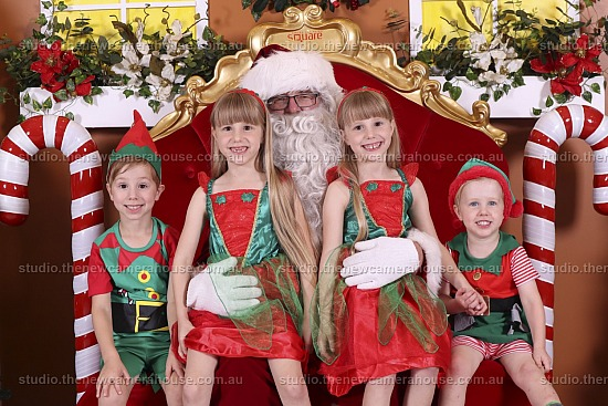 Santa Photos - Lismore Square 2018