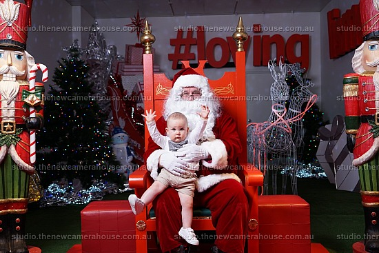 Santa Photos - Christmas in the Heart 2018