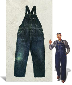 1911 - The beginning of overalls