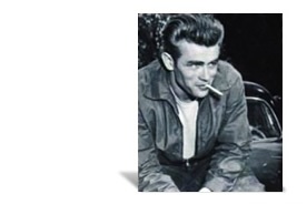 1954 - James Dean wears Lee