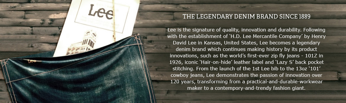 Lee 125 Year Denim History