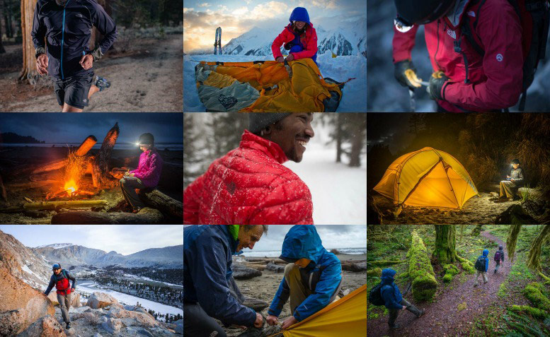 The North Face Australia & New Zealand Collage - Running, Camping, Hiking, ThermoBall Jacket