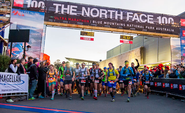 STU GIBSON AND NURIAS PICAS CONQUER THE NORTH FACE 100, 2014