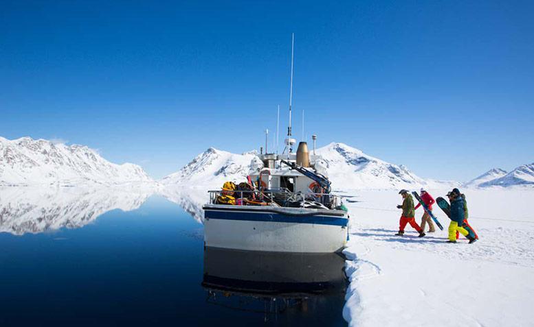 Greenland Expedition with Lucas Debari, John Collinson, Hilaree O'Neill shot by Adam Clark
