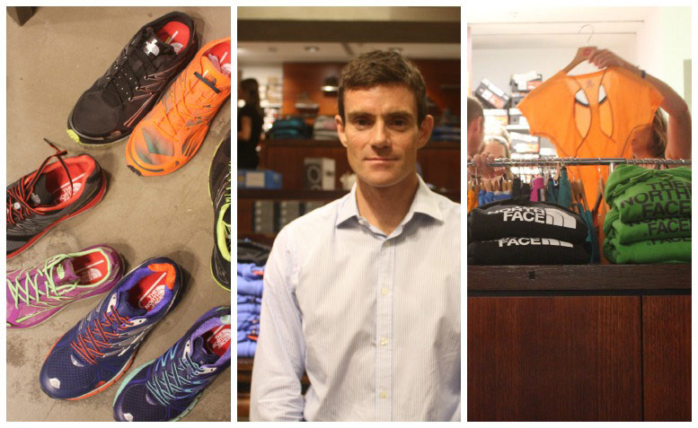 Andrew Tuckey, The North Face Footwear and Apparel