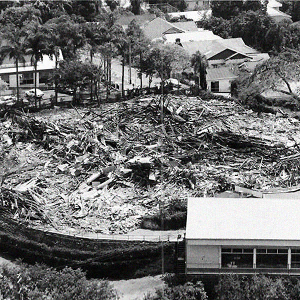 The sight that outraged Brisbane residents on 8 November, 1982