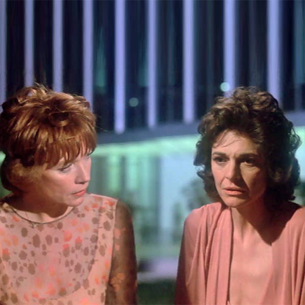 Shirley MacLaine and Anne Bancroft