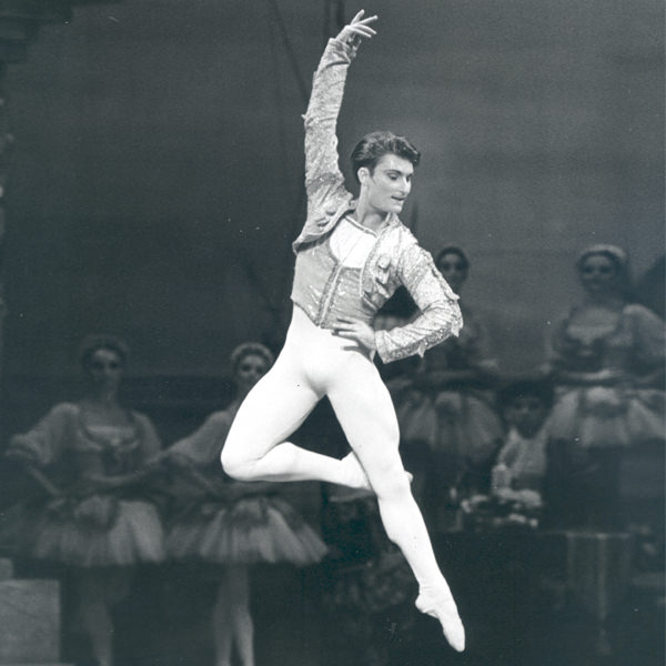 David McAllister in Don Quixote, 1993. Photography Branco Gaica