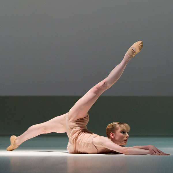 Sarah Lamb in The Royal Ballet's Chroma. Photography © ROH/Bill Cooper 2010