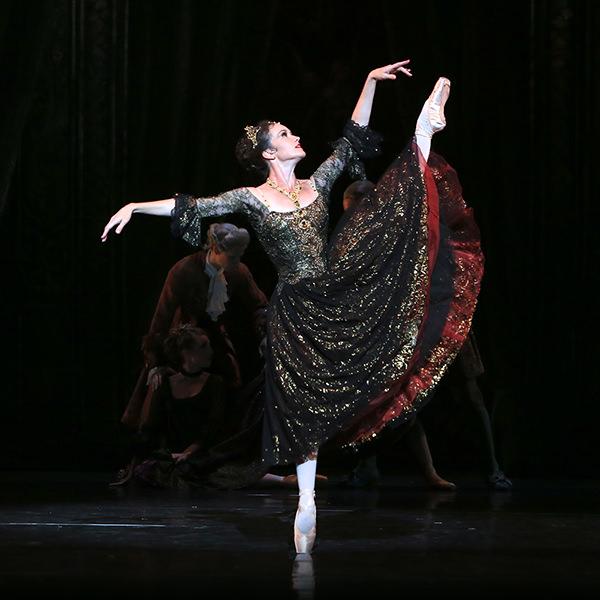The Temptress In Black The Australian Ballet